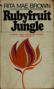 Cover of: Rubyfruit jungle