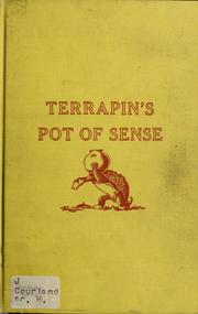 Cover of: Terrapin's pot of sense
