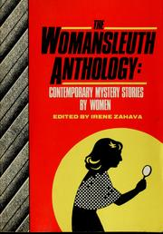 Cover of: The WomanSleuth Anthology | Irene Zahava