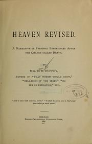 Cover of: Heaven revised... | E. B. Duffey