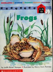 Cover of: Frogs | Judith Bauer Stamper