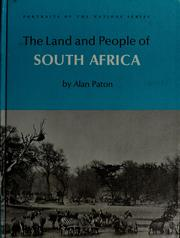 Cover of: The land and people of South Africa