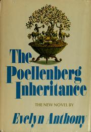 The Poellenberg inheritance by Anthony, Evelyn.