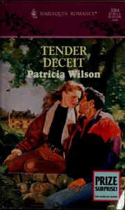 Cover of: Tender Deceit (Harlequin Romance, No 3364)