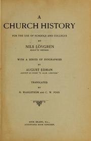 A church history for the use of schools and colleges