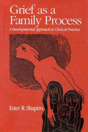 Cover of: Grief as a family process