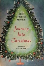 Cover of: Journey into Christmas