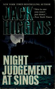 Cover of: Night judgment at Sinos | Jack Higgins