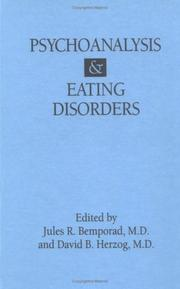Psychoanalysis and Eating Disorders by