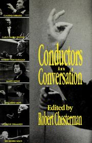 Cover of: Conductors in Conversation | Robert Chesterman