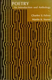 Cover of: Poetry | Charles Stanley Felver