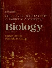 Cover of: Biology laboratory