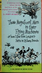 Cover of: Those Magnificent Men in Their Flying Machines