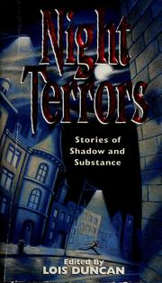 Cover of: Night terrors