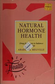Natural Hormone Health by Arabella Melville