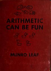Cover of: Arithmetic can be fun
