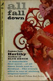 Cover of: All fall down | James Leo Herlihy
