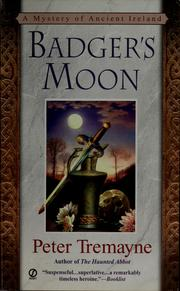 Cover of: Badger's moon