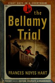 Cover of: The Bellamy trial