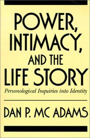 Cover of: Power, intimacy, and the life story