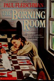 Cover of: The borning room | Paul Fleischman