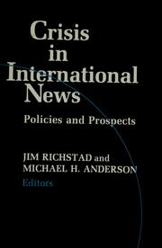 Crisis in International News by Jim Richstad