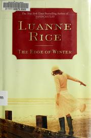 Cover of: The edge of winter