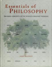 Cover of: Essentials of Philosophy | James Mannion
