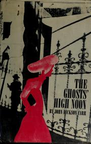 Cover of: The ghosts' high noon