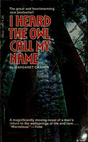 Cover of: I heard the owl call my name