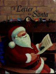 Cover of: A letter to Santa | Gaby Goldsack