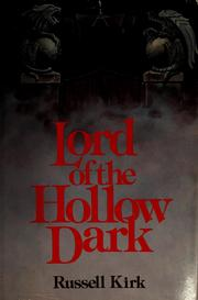 Cover of: Lord of the hollow dark