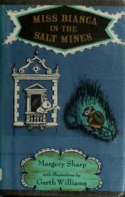 Cover of: Miss Bianca in the salt mines