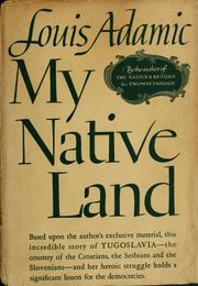 Cover of: My native land