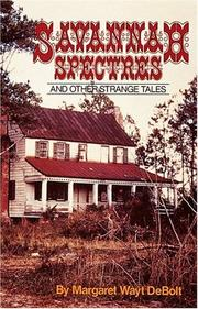 Cover of: Savannah spectres and other strange tales