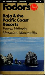 Fodor's Baja & the Pacific Coast resorts by Maribeth Mellin