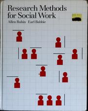Cover of: Research methods for social work | Allen Rubin