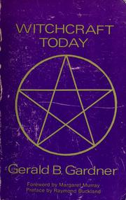 Cover of: Witchcraft today