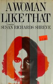 Cover of: A woman like that