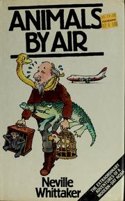 Cover of: Animals by air