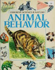 Cover of: Animal behavior | Felicity Brooks