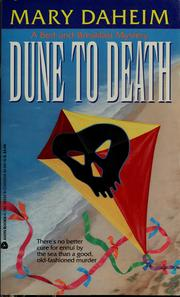 Cover of: Dune to death