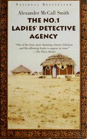 Cover of: The No. 1 Ladies' detective agency