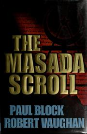 Cover of: The Masada Scroll | Paul Block