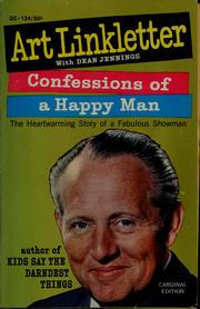 Cover of: Confessions of a happy man