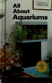 Cover of: All about aquariums
