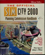 Cover of: The official SimCity 2000 planning commission handbook