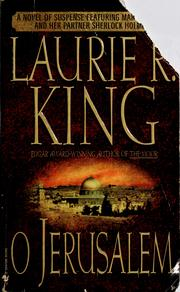Cover of: O Jerusalem