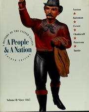 Cover of: A People & a nation