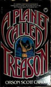 Cover of: A Planet Called Treason